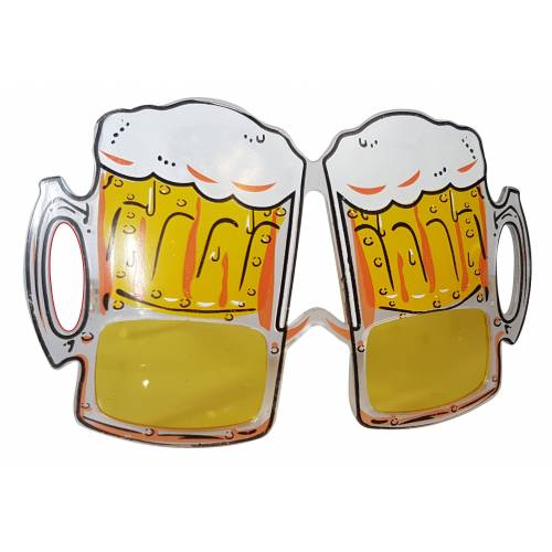 Bier Party Brille / Motiv Sonnenbrille