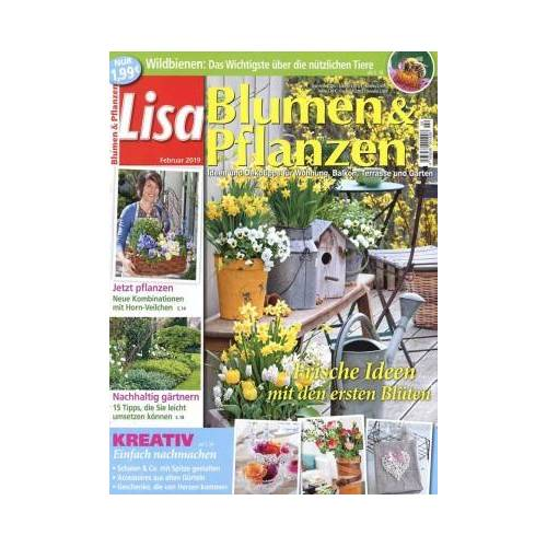 Lisa Blumen & Pflanzen - 12 Monate lesen