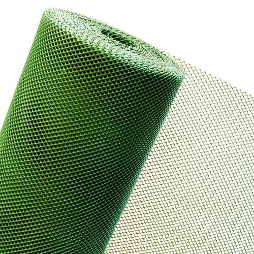 HaGa-Welt Kunststoffzaun in 1,2m Höhe x 25m Länge Masche 5mm Lärmschutz