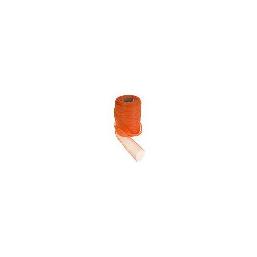 Meshpak Obstnetz 250m Länge Gemüsenetz Aufbewahrungsnetz Masche 8mm orange