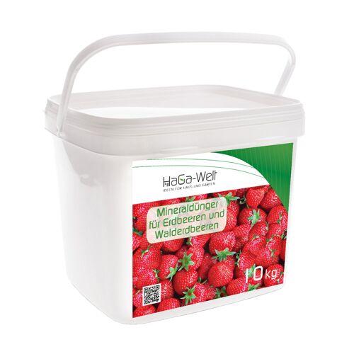 Planta Mineraldünger für Erdbeeren und Walderdbeeren Dünger Düngemittel 10kg