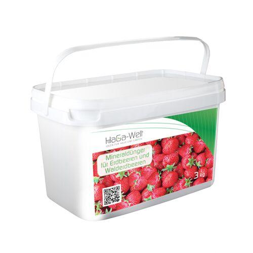 Planta Mineraldünger für Erdbeeren und Walderdbeeren Dünger Düngemittel 3kg
