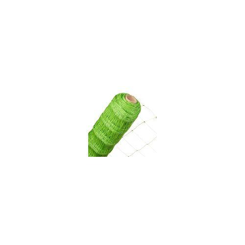 HaGa-Welt Ranknetz in 1,7m x 20m Masche 140mm Rankhilfe für Kletterpflanzen grün