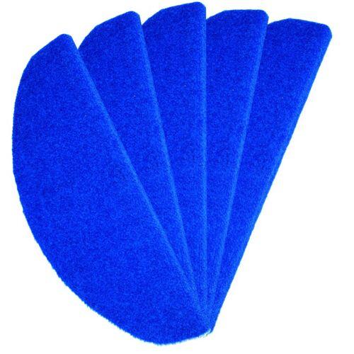 Stufenmatte / Treppenmatte Rasenteppich 24 x 65 cm - 15 Stück 12111 blau