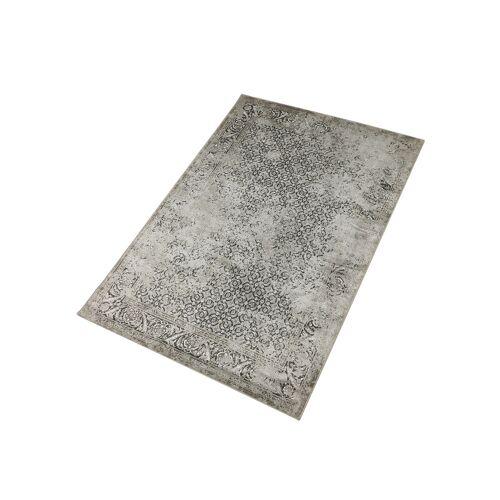 Kunstseide Teppich Vintage Kawung 4251448575841 beige