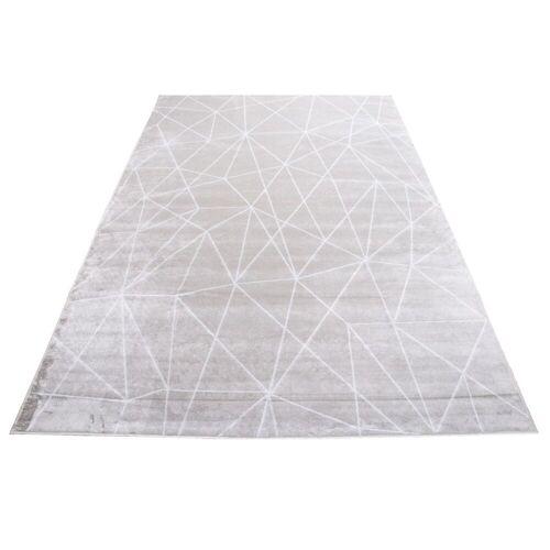 Beam Kunstseide Teppich Vintage Beam 4251448582320 silber
