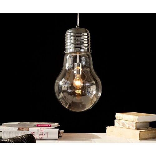 DELIFE Hängeleuchte Bulb Deluxe 30 cm Transparent Glühbirne