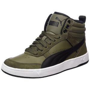 Puma Rebound Street V2 Sneaker Herren Schuhe olive 363715 04 38.5 EU