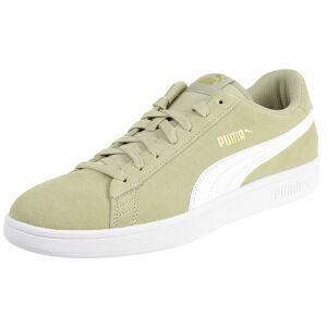 Puma Smash v2 Unisex Sneaker Schuh beige 364989 25 42.5 EU