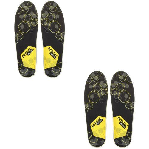 Bergal Einlegesohle Fußbett Sneaker Gr. 36-46 2er Pack 38 EU