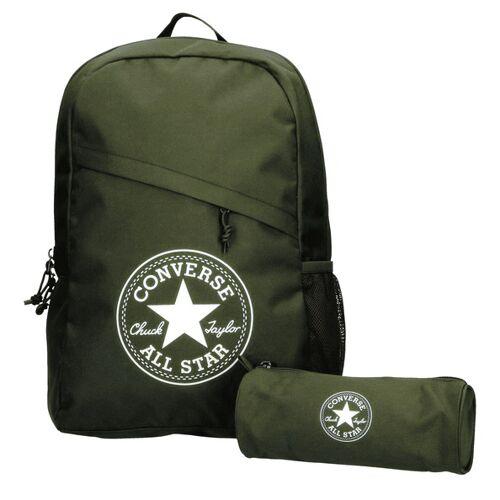 Converse Schoolpack XL Backpack Rucksack Unisex SET grün 45GXN90 Grün