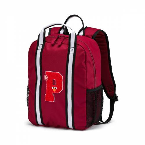 Puma Sesame Street Backpack Small Rucksack Kinder Sesamstraße 076655 rot Rot