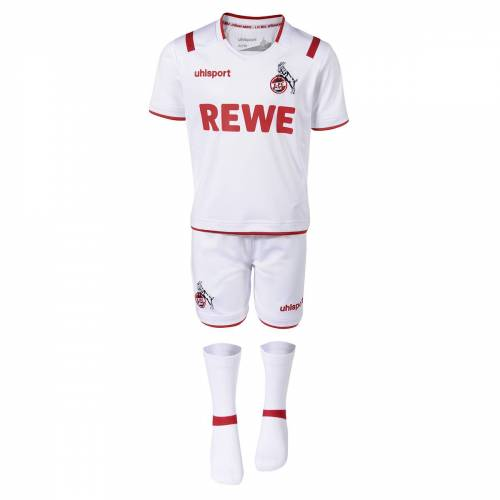 Uhlsport 1.FC Köln Mini-Kit Logo Trikot Kinder Set  86