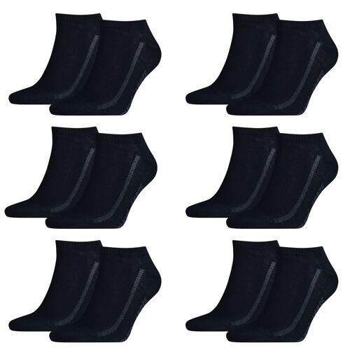 Levi's 12 Paar Levis Unisex Socken 168SF Low Cut Sneakersocken Kurzsocken 321 - navy, 43-46