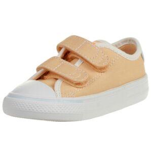 Converse CTAS 2V OX Seasonal Color Easy-On Kinder Chuck Taylor All Star Sneaker 767776C Orange 24 EU
