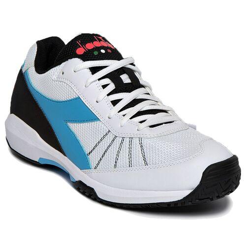 Diadora Unisex Challenge 3 AG Tennisschuhe Sportschuh Weiß 44.5 EU