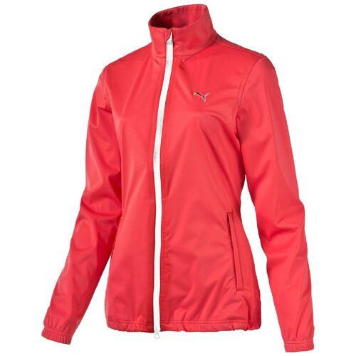Puma W Rain Jacket Damen Golf Jacke zipper Storm Cell rot XS