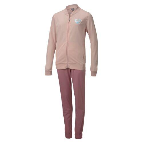 Puma Poly Suit G Mädchen Trainingsanzug Sportanzug 583317 Rosa 152