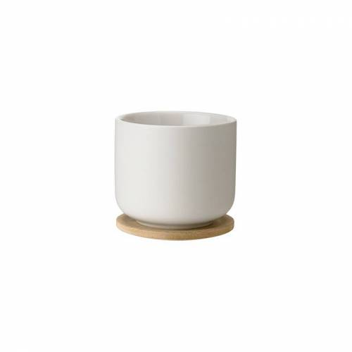 STELTON Cup with Coaster Sand - Theo - Stelton