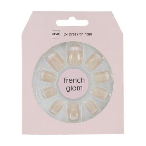 HEMA Kunstnägel - French Glam