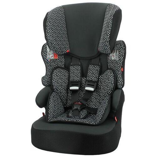 HEMA Mitwachsender Auto-Kindersitz, 9 - 36 Kg, Schwarz Mit Weißen Punkten