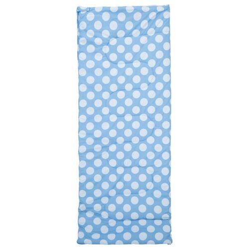 HEMA Schlafsack, 200 X 80 Cm, Baumwolle, Blau