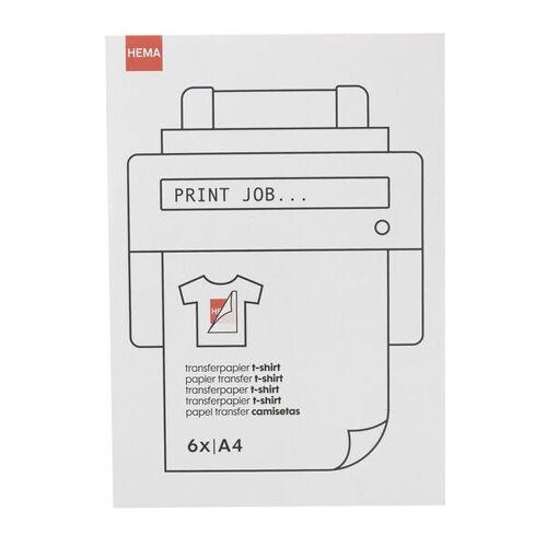 HEMA T-Shirt-Transferpapier