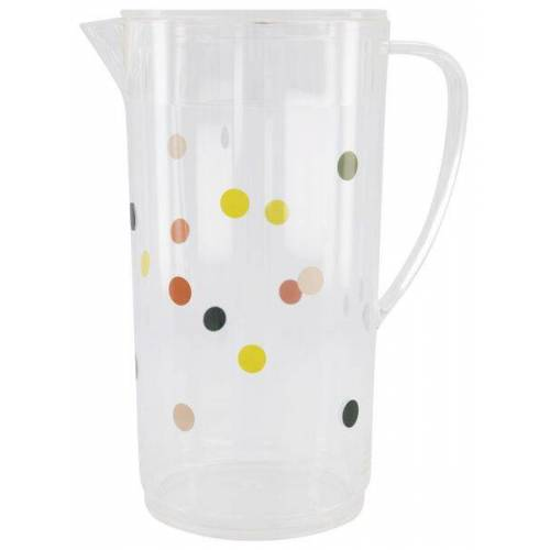 HEMA Limonaden-Karaffe, Kunststoff, 2 L, Punkte