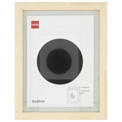 HEMA Holz-Bilderrahmen, 15 X 20 Cm, Magnetisch