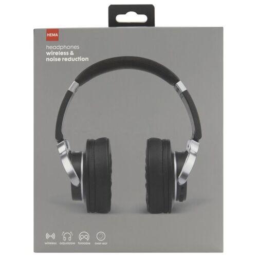 HEMA Funk-Kopfhörer, Rauschunterdrückend, Schwarz