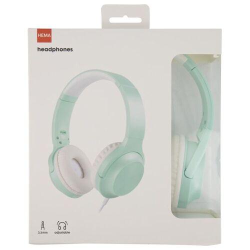 HEMA Kopfhörer, Verstellbar, Grün