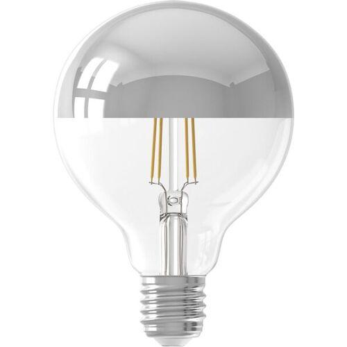 HEMA LED-Lampe, 4W, 280Lumen, Kugel, Kopfspiegel Silbern