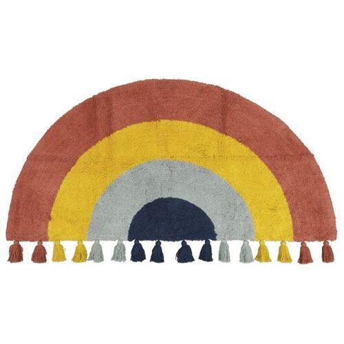 HEMA Teppich, 60 X 120 Cm, Regenbogen