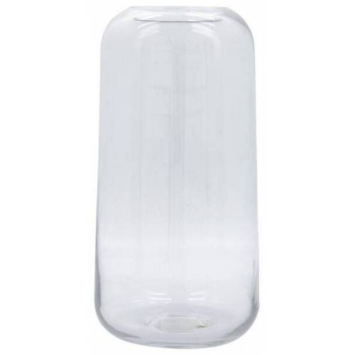 HEMA Vase, Ø 15 X 28 Cm, Recyceltes Glas