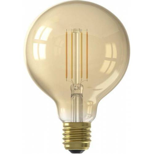 HEMA Smart-LED-Kugellampe, 7 W, 806 Lm, Gold