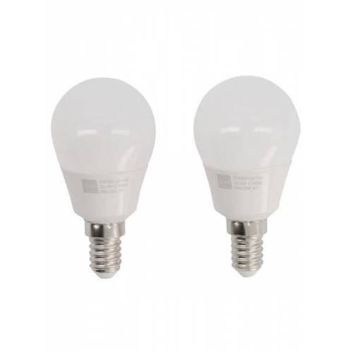 HEMA 2er-Pack LED-Kugellampen, 25 W, 250 Lm, Matt