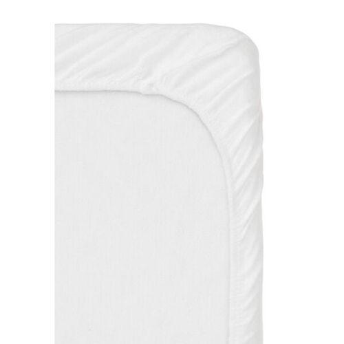 HEMA Molton-Spannbettlaken Topper - Stretch Weiß