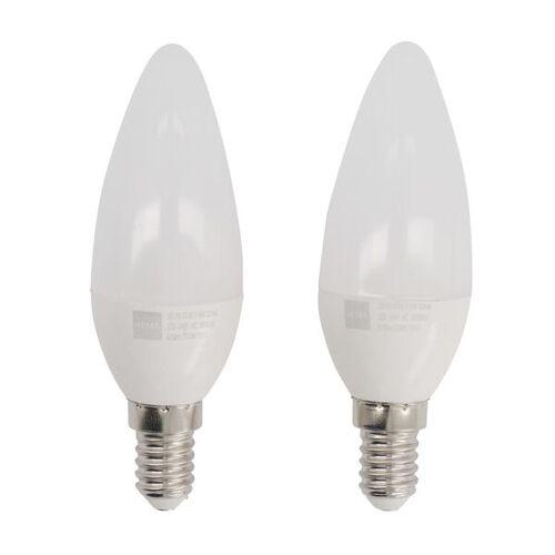 HEMA 2 LED-Lampen, 40W, 470Lumen, Kerze, Klar