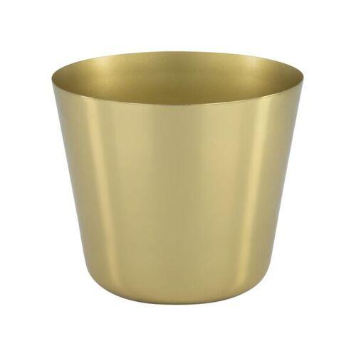 HEMA Blumentopf - Ø 14.3 Cm - Metall - Golden