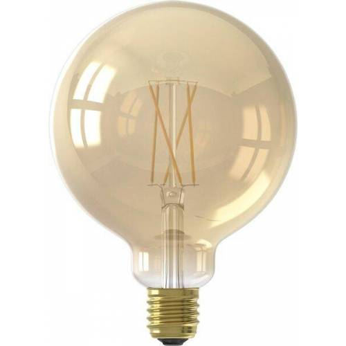 HEMA Smart-LED-Kugellampe, 7 W, 806 Lm, Gold