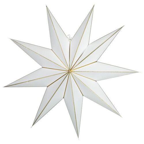 HEMA Weihnachtsstern, Papier, Ø 100 Cm, Weiß
