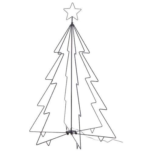HEMA Weihnachtsbaum Mit Spitze, 220 LED-Leuchten, 120x80