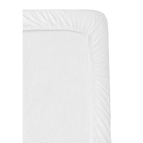 HEMA Jersey-Spannbettlaken Für Split-Topper Weiß