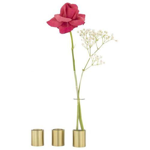 HEMA 3er-Pack Magnet-Vasen, 16 X Ø 2.3 Cm, Golden