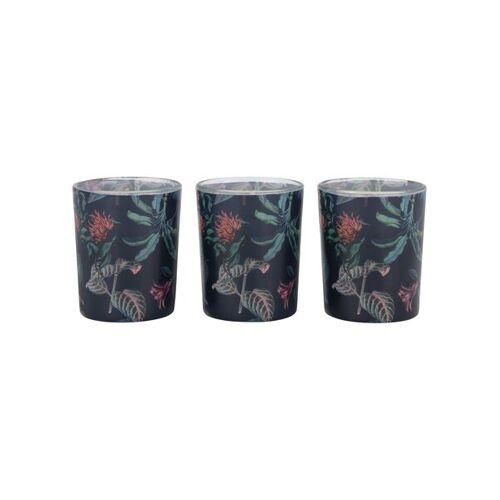 HEMA 3 Duftkerzen, Ø 5,5 Cm, Feige Und Rose