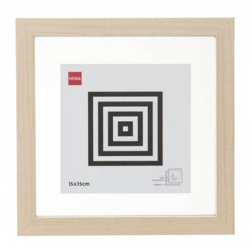 HEMA Holz-Bilderrahmen, 15 X 15 Cm, Magnetisch
