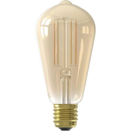HEMA Smart-LED-Lampe, Edison, 7 W, 806 Lm, Gold