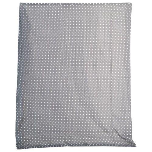HEMA Duschvorhang, 180 X 200 Cm, Textil, Grau-weiß
