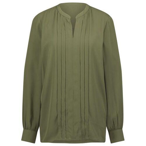 HEMA Damen-Bluse Olivgrün