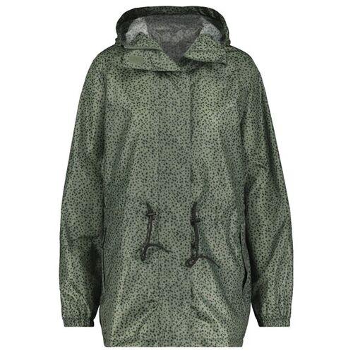 HEMA Leichte Damen-Regenjacke Graugrün